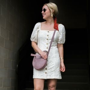 Free People Dresses - Free People 'Daniella' mini eyelet dress